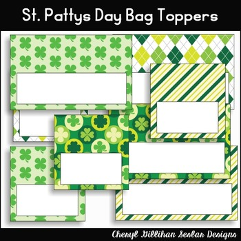 St. Pattys Day Bag Topper Printables