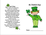 St. Patty's Day Booklet