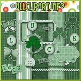 St. Patty's Day Commercial Use Clip Art Kit