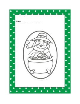 St. Patrick's Day Coloring Worksheets {FREEBIE}