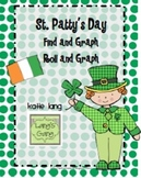 St. Patrick's Day Find and Graph-Roll and Graph