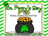 St. Patty's Day Fun {literacy centers and activities PLUS writing craft}