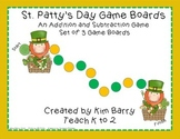 Game Boards - Addition and Subtraction Practice - St. Patt