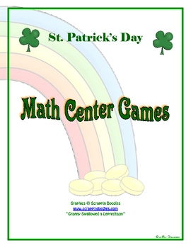 St. Patty's Day Games for Math Centers