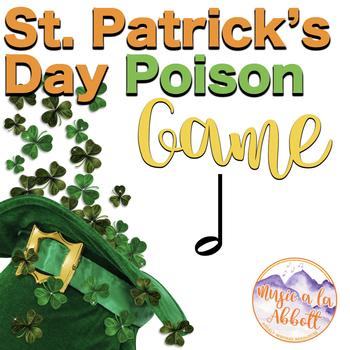St. Patty's Day Leprechaun Poison Rhythm Game: half note