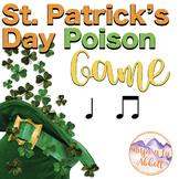St. Patty's Day Leprechaun Poison Rhythm Game: ta ti-ti