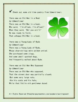St. Patty's Day Limerick: Seasonal Poetry