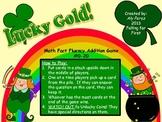 St. Patty's Day Math Fact Game #0-20 First Grade