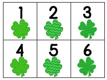 St. Patty's Day Math Games