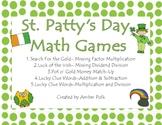 St. Patty's Day Math Games