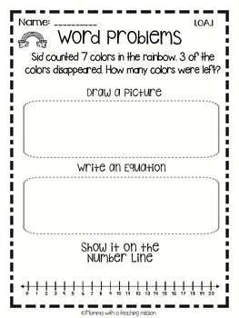 St Paddys' Day No Prep Math & Literacy Printables March