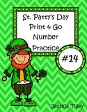 St. Patty's Day Number Practice