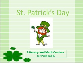 St. Patty's Day - Pre K and Kindergarten