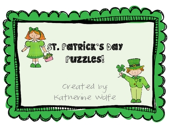 St. Patty's Day Puzzle Unit