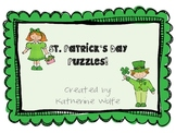 St. Patty's Day Puzzle Unit