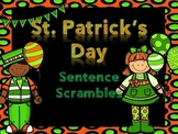 St. Patty's Day Sentence Scramble with Indepent Scrambles