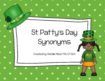 St. Patty's Day Synonyms