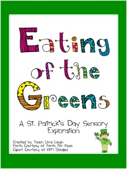 St. Patty's Eating of the Greens FREEBIE