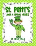 St. Patty's Math & Literacy Pack