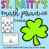 St. Patty's Math Practice {FREEBIE!}