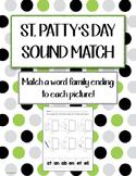 St. Patty's Shamrock Match Patch