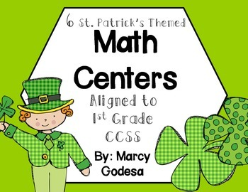 St. Patty's Themed Math Centers
