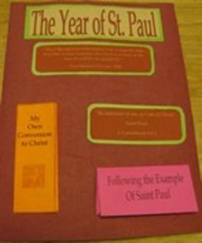 St. Paul Catholic Lapbook