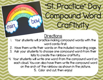 """St. Practice"" Day Craftivities! {St. Patrick's Day Fun!}"