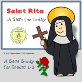 St Rita of Cascia, Short Saint Study for Grades 1-3
