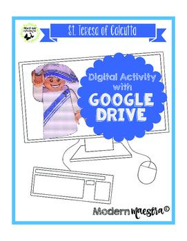 Mother Teresa/St. Teresa of Calcutta Google Drive Digital