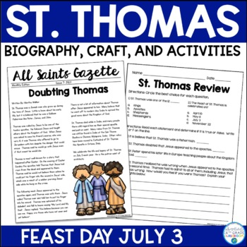 St. Thomas Biography & Activities