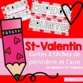 St-Valentin - Mesure: Périmètre et l'aire
