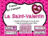 St-Valentin - Mur de mots