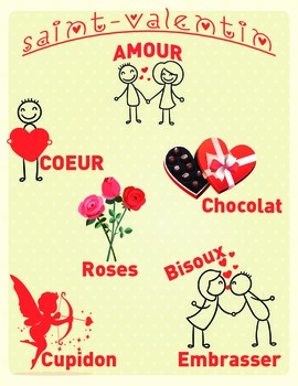 St-Valentin / Valentine day French