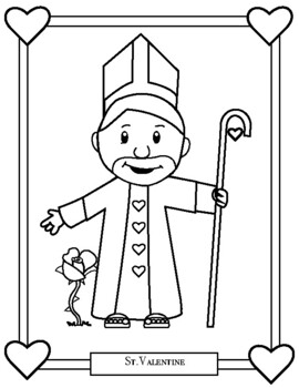 St Valentine Catholic Worksheets Teaching Resources Tpt