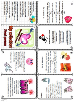 St Valentine Day collection of short poems