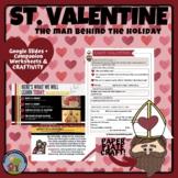 St. Valentine History and Legend behind Valentine's Day + Craft