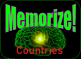 Countries Memorize Game - Full Class Activity - K-3 - PPT