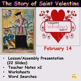St Valentine's Day Lesson/Assembly Presentation, Worksheet