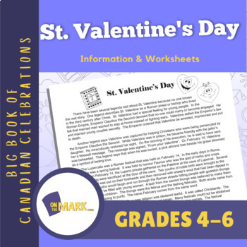 St. Valentine's Day Lesson Plan
