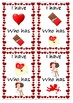 St. Valentine's Day games, flashcards, poster, Cupid