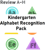 Distance Learning Packets - Kindergarten Alphabet Recognit