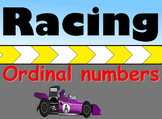 Ordinal Numbers Review Game - Racing Game - Grades K-1