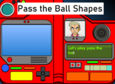 2D Shape Pokemon Pass the Ball Game - Picture and Word Pro