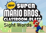 Sight Words Practice Mario Game - 20 High Frequency Words