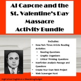 St. Valentine's Day Massacre Activities Bundle- PDF Version