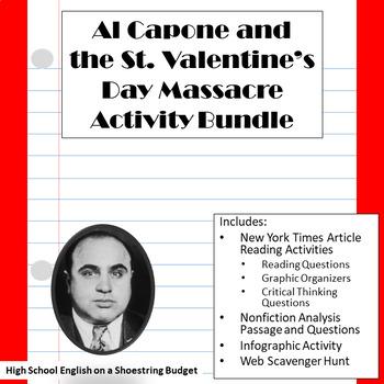 St. Valentine's Day Massacre Activities Bundle- Word Version