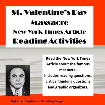 St. Valentineu0027s Day Massacre Reading Questions (New York Times Article)