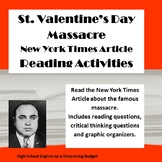 St. Valentine's Day Massacre Reading Questions (New York T