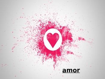 St. Valentines day dia del san valentin spanish
